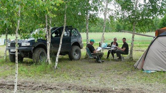 Kemping CAMP 4x4 Góry Świętokrzyskie