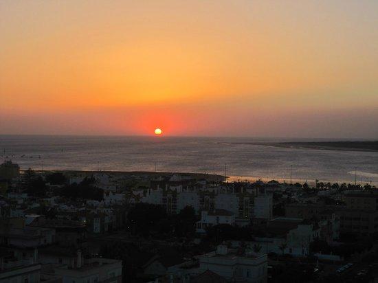 Hotel Guadalquivir: Vistas del atardecer desde el hotel