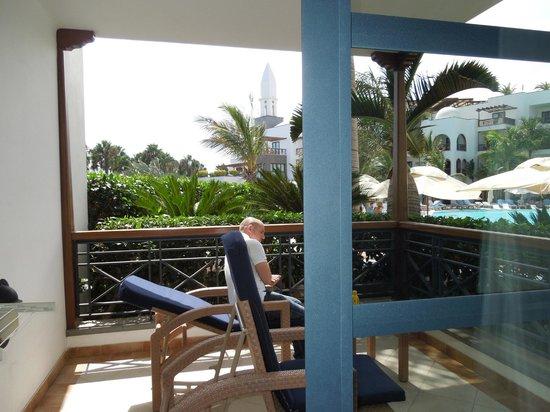 Princesa Yaiza Suite Hotel Resort : View from First floor C block