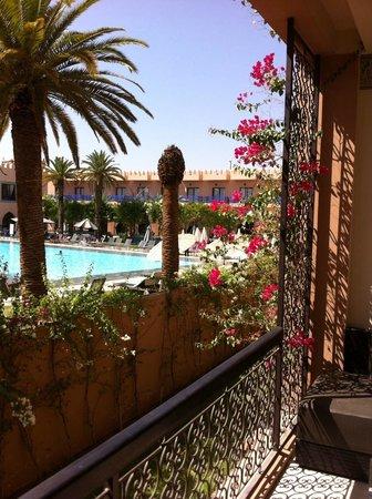 Adam Park Marrakech Hotel  & Spa: Vue de la chambre