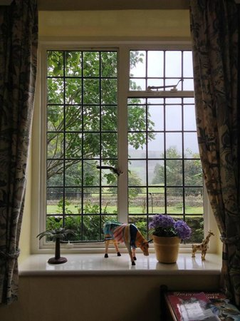 Thornley House: breakfast room view