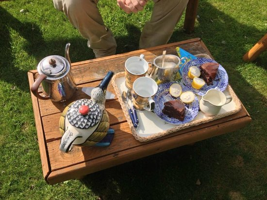 Thornley House: afternoon tea