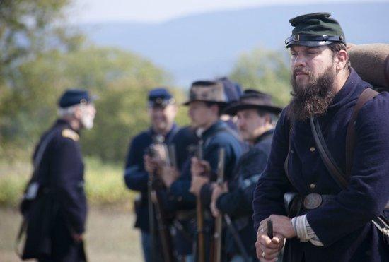 Antietam National Battlefield: soldiers