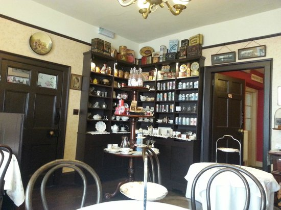 Inside Mother's Little Vintage Tea Room