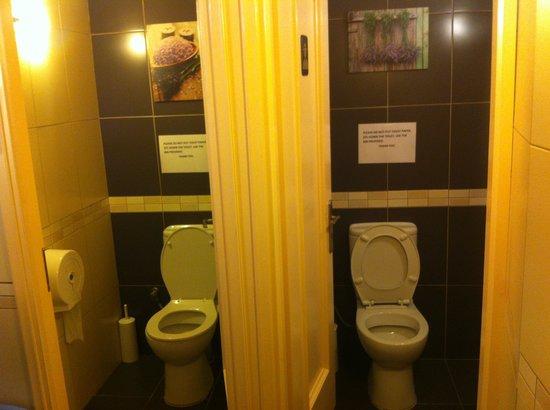 Captain's Cabin : Spotless Toilets *****