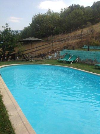 Posada el Bosque : Pool area