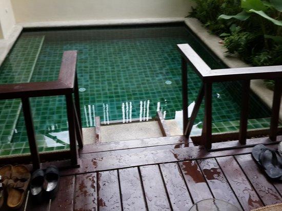 Anantara Lawana Koh Samui Resort: Plunge Pool outside the room