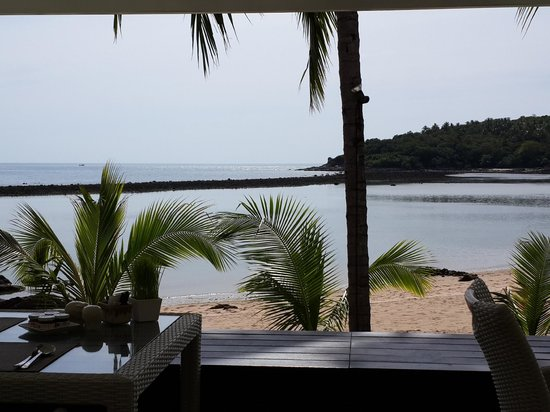 Anantara Lawana Koh Samui Resort: View from the breakfast area