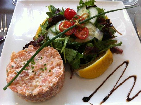 Autour du Saumon - Miron : duo tartare de saumon