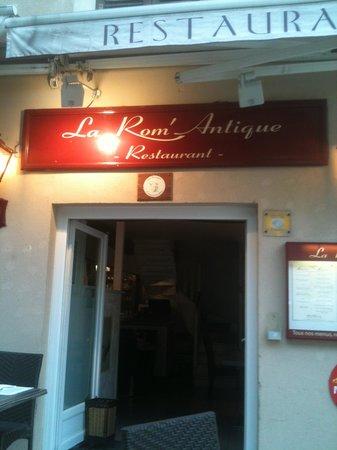 La Rom' Antique : Entrée