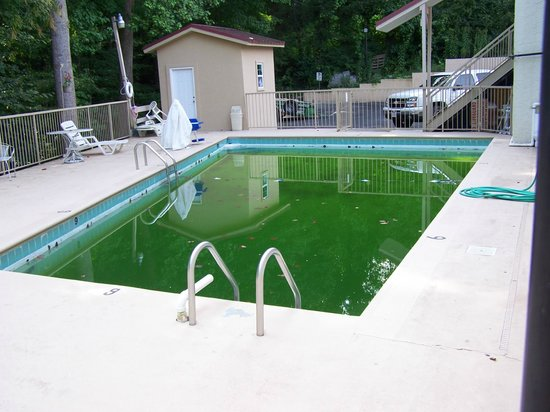 Motel 6 Gatlinburg Smoky Mountains : Mid September and they say their pool is open until October.