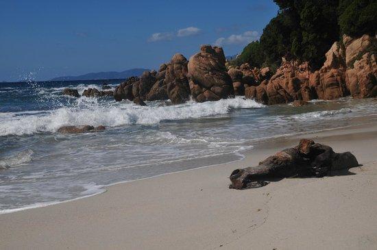 Coti-Chiavari, Francie: la plage d'argent