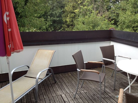 Gasthof Muehlwinkl: Unser Balkon