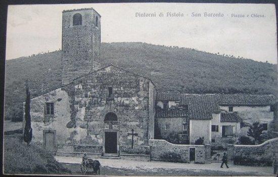 San Baronto: L'Abbazia com'era...