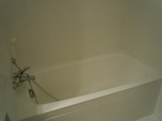 Hotel Gallia: Salle de bain (chambre Privilège)