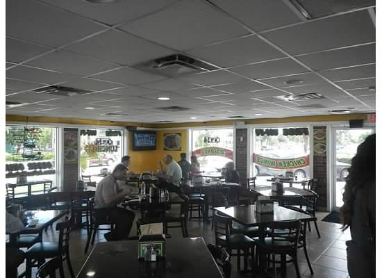 La Parrilla Rotisserie & Grill: Inside restaurant