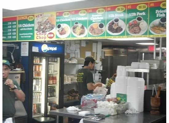 La Parrilla Rotisserie & Grill: Menu
