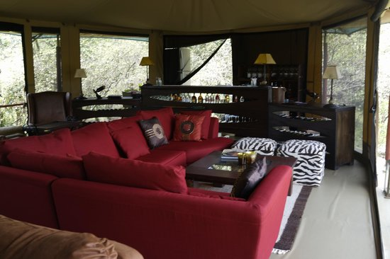 Mara Bush Camp: relax