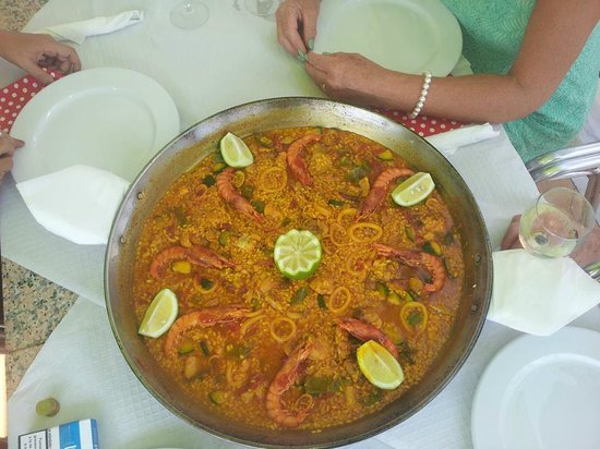 Bar El Cortijo : paella mixta