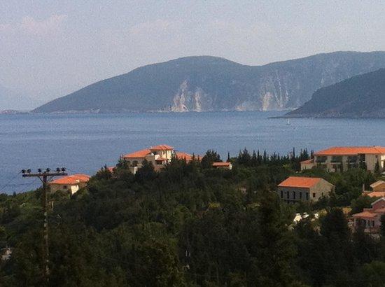 Kalokeri Apartment Suites: Views from Balcony
