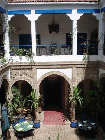 Entrée Riad Al Madina