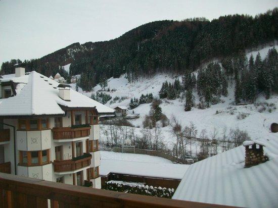 Hotel Cristallo : Dalla camera vista sulla Saslong