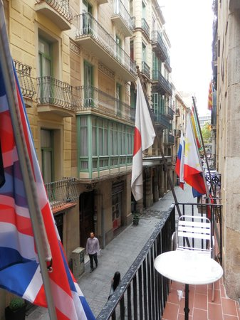 Hotel Cortes : View from room