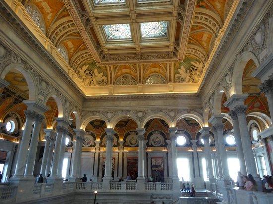 ห้องสมุดคองเกรส: Biblioteca del Congresso all'interno del Campidoglio