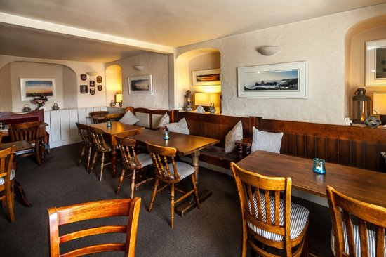 The Old Quay Inn: One of our relaxed dining areas