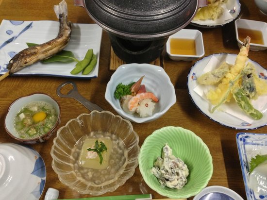 Kunimi Onnsen Isiduka Ryokan: 塩麹ポーク蒸しが美味しかった