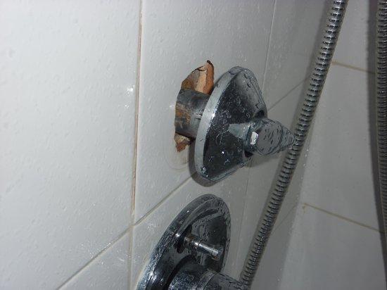 Avanti Hotel: Shower