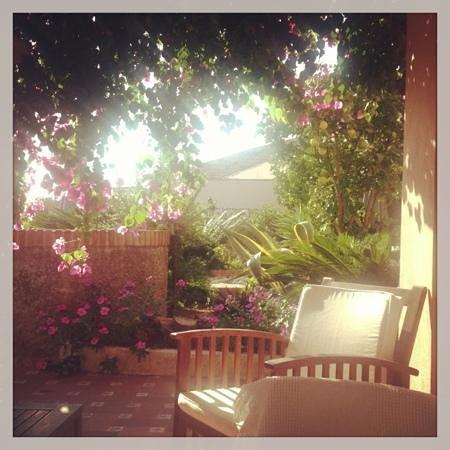 Hotel Monte Victoria: the terrace