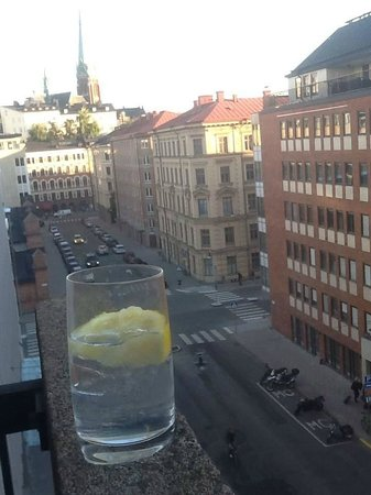 Hotel Birger Jarl: Scenic VIEW!!