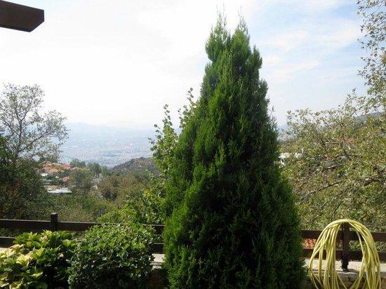 Stevalia Hotel & Spa : Vue