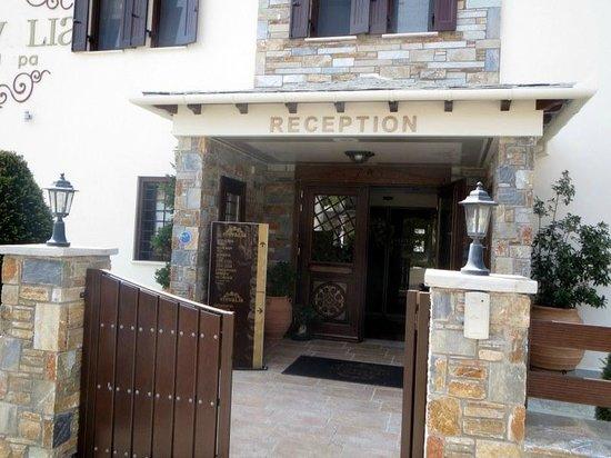 Stevalia Hotel & Spa : vers espace spa,,,