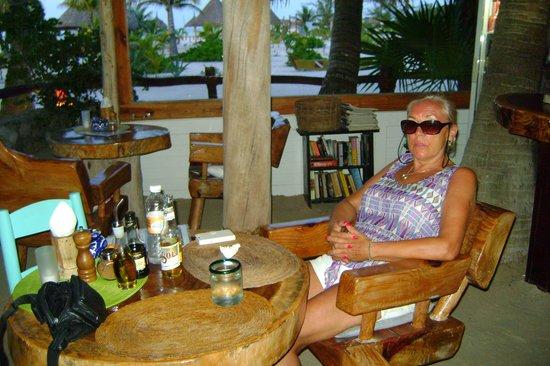 Holbox Hotel Mawimbi : lovely dinner