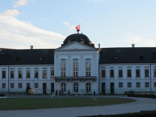 Grassalkovich Presidential Palace: Atrás 1