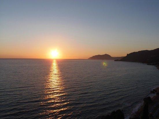 Mayor La Grotta Verde Grand Resort: superbe coucher de soleil