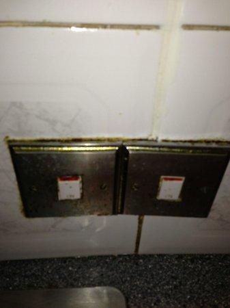 Whiteleaf Hotel: rusty lights swtiches