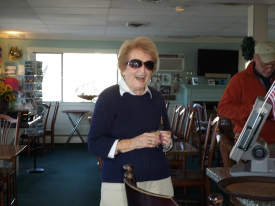 """Bartley's Dockside Dining: Mrs. """"B"""" known for her famous Blueberry Pie"""