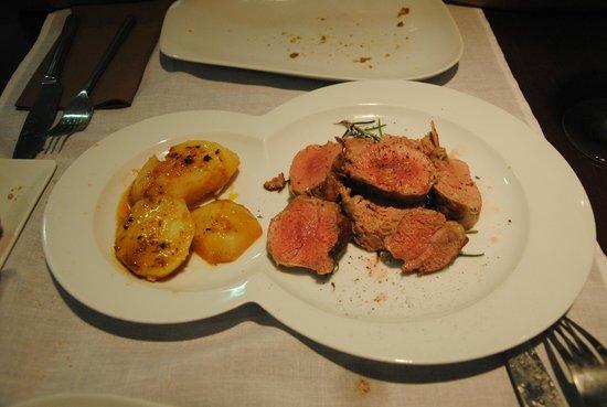 La Cepa Vieja: Solomillo de cerdo al romero con patatas
