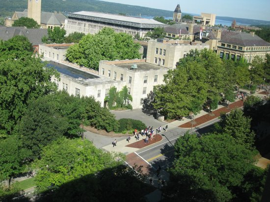 The Statler Hotel at Cornell University: Lovely view from the room