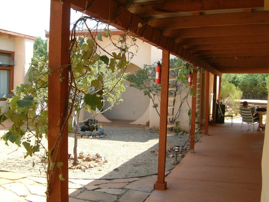 Tree of Life Center US : Casita Area with Firepit