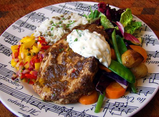 Dinner at Cafe Concerto