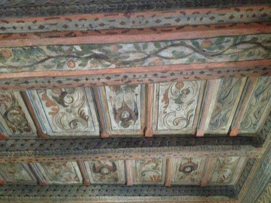 Alchymist Prague Castle Suites: Ceiling decoration