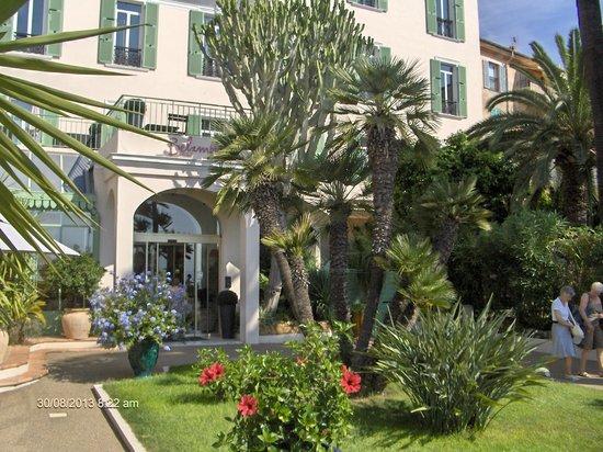 Belambra Clubs - Le Vendôme : entrée de l'hotel