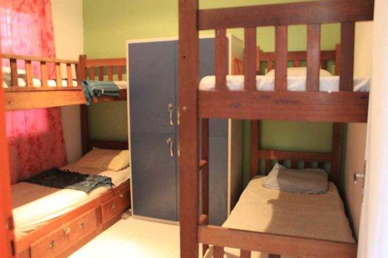 Hostel Amazonas: Dormitórios coletivos