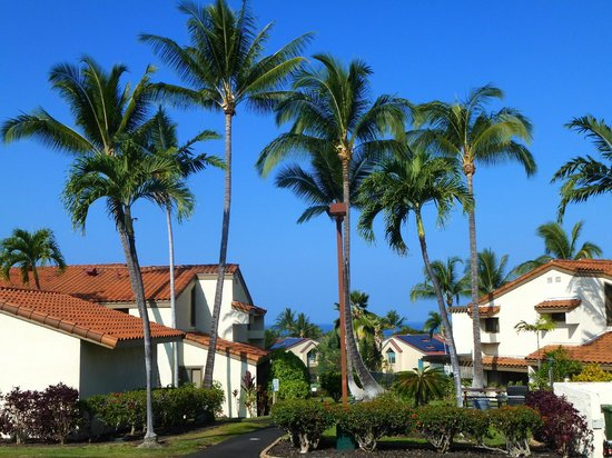Kona Coast Resort: Another cloudless day in paradise