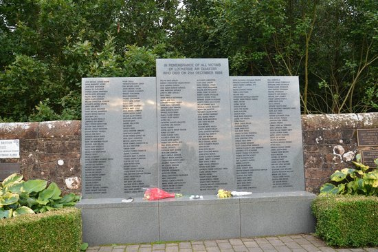 Lockerbie, UK: Garden of Remembrance