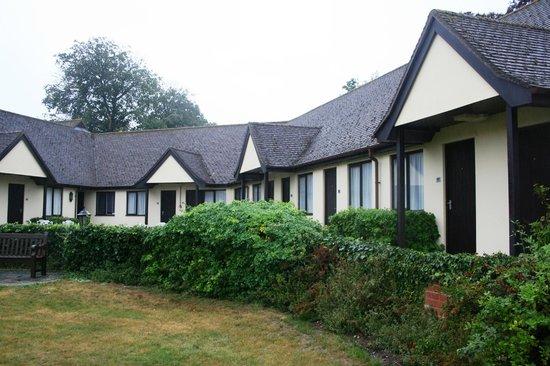 Best Western Priory Hotel: garden rooms